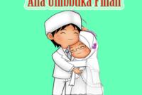 Ana Uhibbuka Fillah artinya
