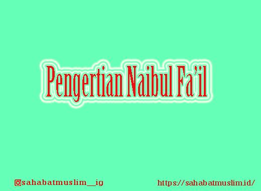 Naibul Fa'il