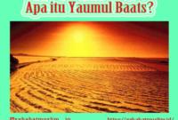 Pengertian Yaumul Baats