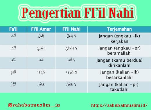 fi'il nahi