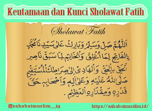 kuncii Sholawat Fatih