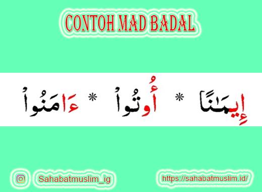 Contoh Mad Badal