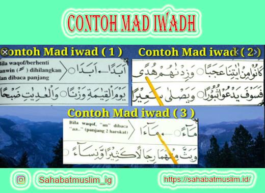 Contoh Mad Iwadh