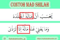 Contoh Mad Shilah
