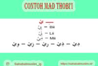Contoh Mad Thobi'i