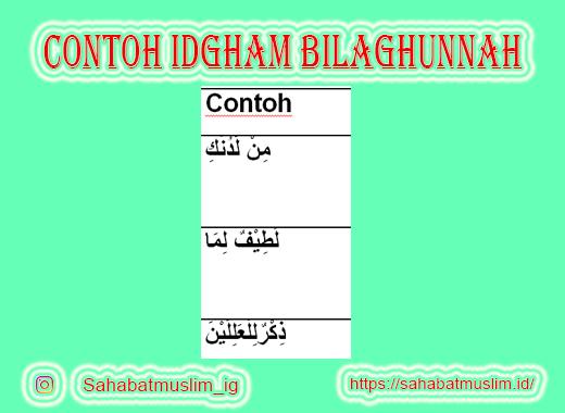 Idgham Bilaghunnah