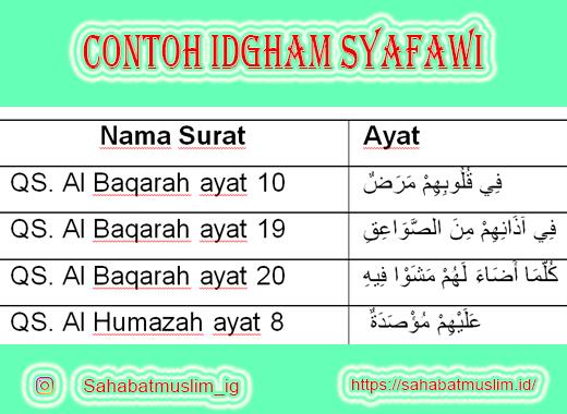 Idgham Syafawi