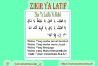 Zikir Ya Latif