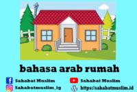 Bahasa Arab Rumah